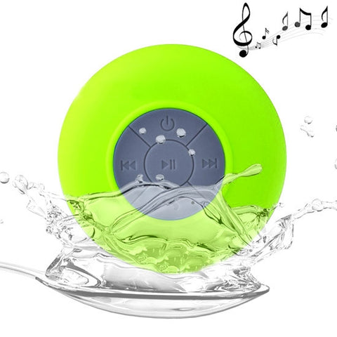 Buy Online  Mini Waterproof Bluetooth V2.1 Speaker for iPad / iPhone / Other Bluetooth Mobile Phone, Support Handfree Function, Waterproof Level: IPX4, BTS-06(Green) Speakers - MEGA Discount Online Store Ghana