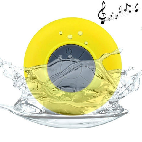 Buy Online  Mini Waterproof Bluetooth V2.1 Speaker for iPad / iPhone / Other Bluetooth Mobile Phone, Support Handfree Function, Waterproof Level: IPX4, BTS-06(Yellow) Speakers - MEGA Discount Online Store Ghana