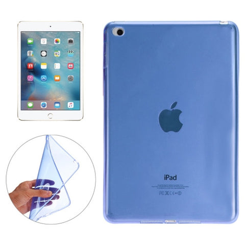 Buy Online  Smooth Surface TPU Case for iPad Pro 12.9 inch(Blue) Apple Cases - MEGA Discount Online Store Ghana