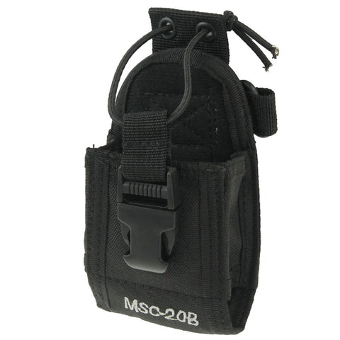 Buy Online  MSC20B Universal Nylon Carry Case Series Holster with Strap for Walkie Talkie Bags & Backpacks - MEGA Discount Online Store Ghana