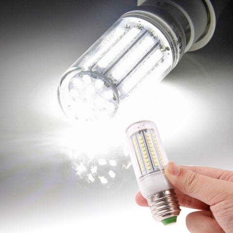 Buy Online  E27 2835 SMD 8.0W AC 220V 420LM LED Corn Light Lamp with Transparent Cover (White Light 102 LEDs) LED & Bulbs - MEGA Discount Online Store Ghana