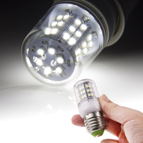 Buy Online  E27 3W White Light 48 LED 3528 SMD Corn Light Bulb, AC 220V LED & Bulbs - MEGA Discount Online Store Ghana