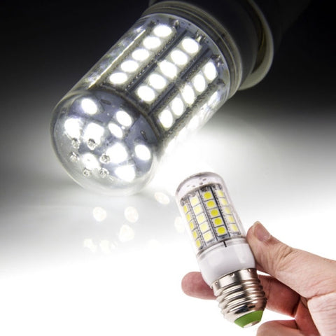 E27 5050 SMD 5.0W AC 220V 420LM LED Corn Light Lamp with Transparent Cover (White Light 59 LEDs) LED & Bulbs - MEGA Discount Online Store Ghana