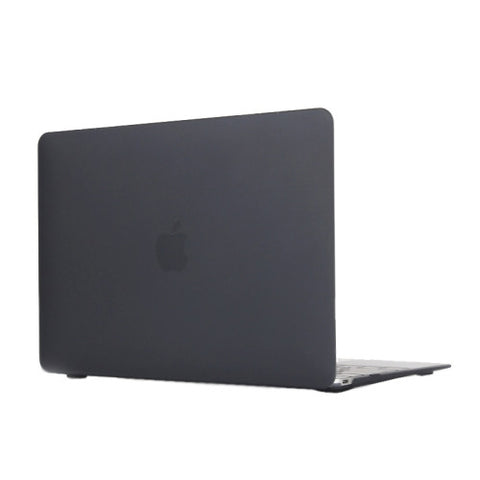 Buy Online  Colored Translucent Frosted Hard Plastic Protective Case for Macbook 12 inch(Black) Apple Cases - MEGA Discount Online Store Ghana