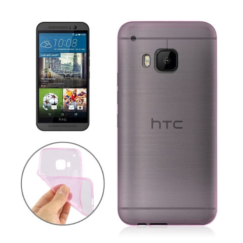 Buy Online  Angibabe 0.3mm Ultra-thin TPU Cover for HTC One M9(Pink) HTC Cases - MEGA Discount Online Store Ghana