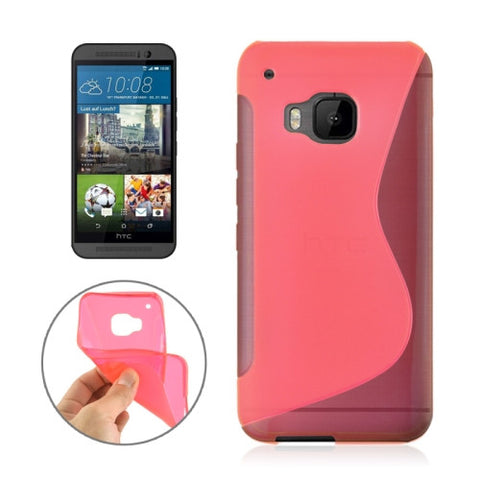 Buy Online  S Line Both Sides Anti-slip Frosted TPU Protective Case for HTC One M9(Watermelon Red) HTC Cases - MEGA Discount Online Store Ghana