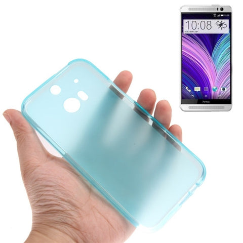 Buy Online  Translucent Frosted TPU Cover for HTC One M8 (Baby Blue) HTC Cases - MEGA Discount Online Store Ghana