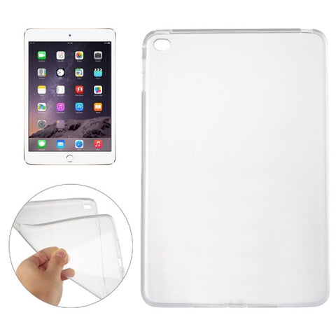 Buy Online  Smooth Surface TPU Case for iPad Mini 4(Transparent) Apple Cases - MEGA Discount Online Store Ghana