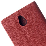 Buy Online  Litchi Texture Magnetic Button Horizontal Flip Leather Case with Card Slots & Holder for Nokia X2 (Brown) Nokia Cases - MEGA Discount Online Store Ghana