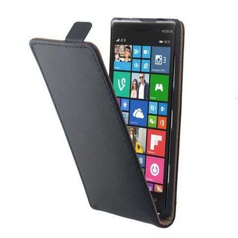 Buy Online  Vertical Flip Magnetic Button Leather Case for Nokia Lumia 830 Nokia Cases - MEGA Discount Online Store Ghana
