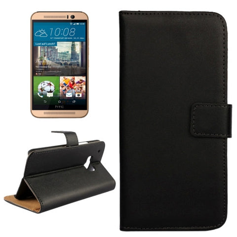 Buy Online  Real Cowhide Leather Cover for HTC One M9(Black) HTC Covers - MEGA Discount Online Store Ghana