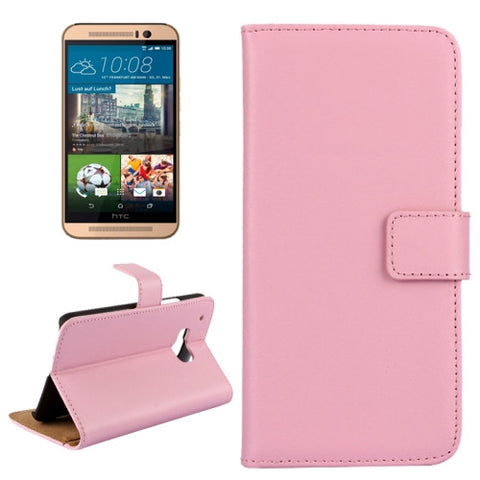 Buy Online  Real Cowhide Leather Case for HTC One M9(Pink) HTC Cases - MEGA Discount Online Store Ghana
