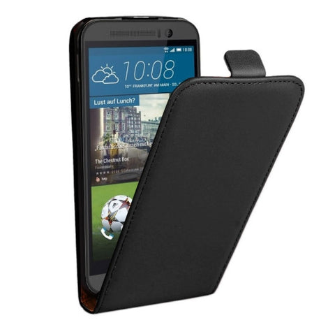 Buy Online  Vertical Flip Genuine Split Leather Case for HTC One M9(Black) HTC Cases - MEGA Discount Online Store Ghana