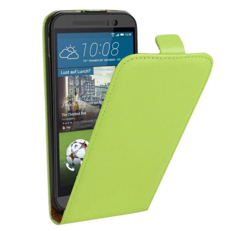 Buy Online  Vertical Flip Genuine Split Leather Case for HTC One M9(Green) HTC Cases - MEGA Discount Online Store Ghana