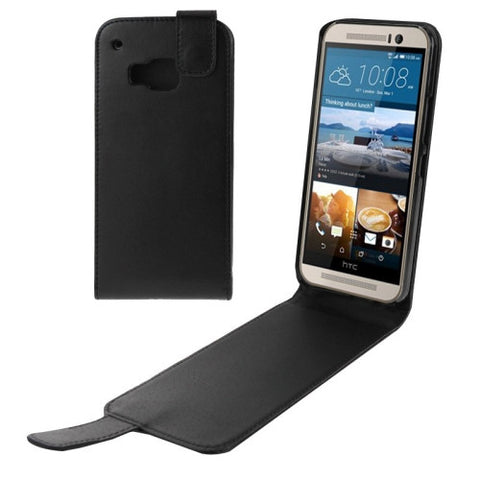 Buy Online  Vertical Flip Magnetic Snap Leather Case for HTC One M9(Black)   Lead Time: 1~3 Days. HTC Cases - MEGA Discount Online Store Ghana