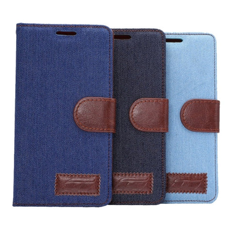 Buy Online  Denim Texture Horizontal Flip Magnetic Buckle Leather Cover with Card Slots & Holder for Sony Xperia Z4, Small Quantity Recommended Before Sony Xperia Z4 Launching(Black) Sony Cases - MEGA Discount Online Store Ghana