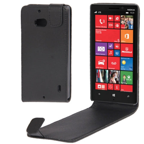 Buy Online  Vertical Flip Leather Case for Nokia Lumia 929 / Lumia 930(Black) Nokia Cases - MEGA Discount Online Store Ghana