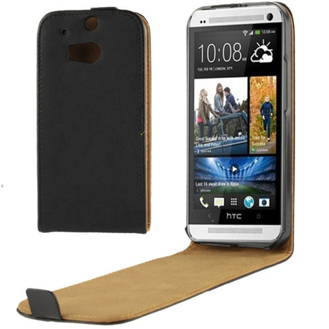 Buy Online  Vertical Flip Leather Case for HTC One M8 HTC Cases - MEGA Discount Online Store Ghana