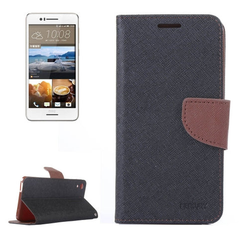 HTC Desire 728 Color Matching Cross Texture Flip Leather Case with Holder & Card Slots & Wallet HTC Cases - MEGA Discount Online Store Ghana
