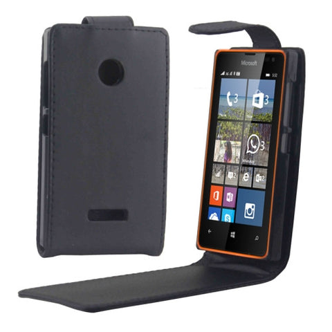 Buy Online  Vertical Flip Magnetic Button Leather Case for Microsoft Lumia 532 Microsoft Cases - MEGA Discount Online Store Ghana