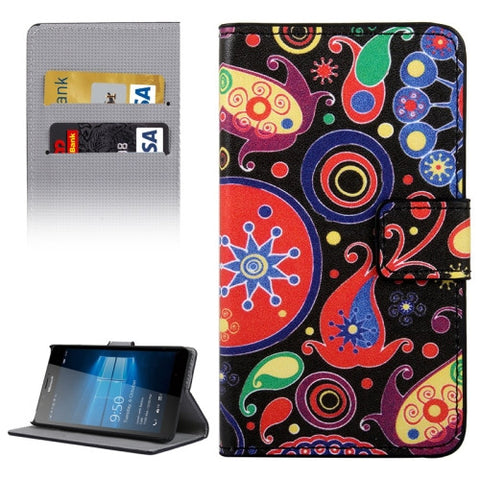 Buy Online  Acaleph Pattern Horizontal Flip Leather Case with Holder & Card Slots & Wallet for Microsoft Lumia 950 Microsoft Cases - MEGA Discount Online Store Ghana