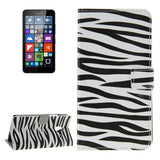 Buy Online  Zebra Pattern Horizontal Flip Leather Case with Holder & Card Slots & Wallet for Microsoft Lumia 640 XL Microsoft Cases - MEGA Discount Online Store Ghana