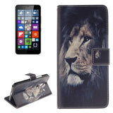 Buy Online  Lion Pattern Leather Case with Holder & Card Slots & Wallet for Microsoft Lumia 640 XL Microsoft Cases - MEGA Discount Online Store Ghana