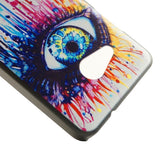 Buy Online  Drawing Eye Pattern PC Protective Case for Microsoft Lumia 550 Microsoft Cases - MEGA Discount Online Store Ghana