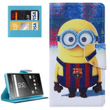 Buy Online  Minions Patterns Horizontal Flip Leather Case with Holder & Card Slots & Wallet for Sony Xperia Z5 Sony Cases - MEGA Discount Online Store Ghana