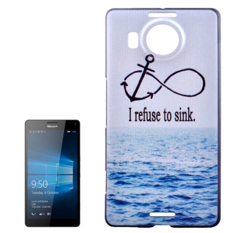 Buy Online  Sea and Words Patterns PC Protective Case for Microsoft Lumia 950 XL Microsoft Cases - MEGA Discount Online Store Ghana