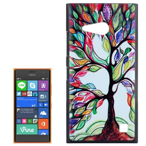 Buy Online  Abstract Tree Painting Pattern Hard Case for Nokia Lumia 730 Nokia Cases - MEGA Discount Online Store Ghana