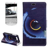 Buy Online  Fish Eye Pattern Horizontal Flip Magnetic Buckle Leather Cover with Card Slots & Wallet & Holder for Blackberry Classic / Q20 Blackberry Cases - MEGA Discount Online Store Ghana