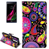 Colorful and Abstract Patterns Horizontal Flip Leather Case with Card Slots and Holder for LG Class / LG Zero LG Cases - MEGA Discount Online Store Ghana