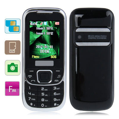Buy Online  D900 Black, Bluetooth FM function Mobile Phone, Dual sim cards Dual standby, Dual band, Network: GSM900/1800MHZ Cheap Phones - MEGA Discount Online Store Ghana