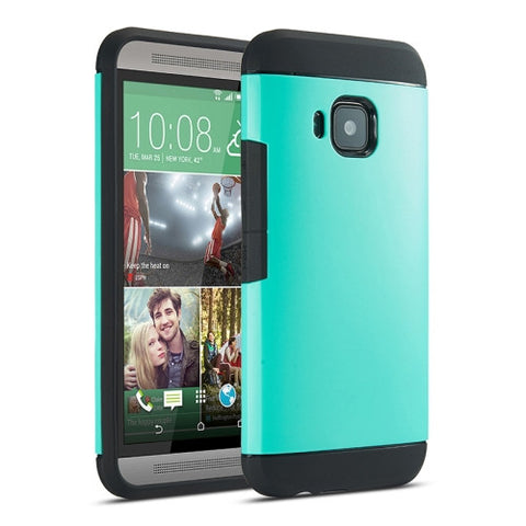Buy Online  Armor PC + TPU Combination Protective Cover for HTC One M9 (Cyan) HTC Cases - MEGA Discount Online Store Ghana