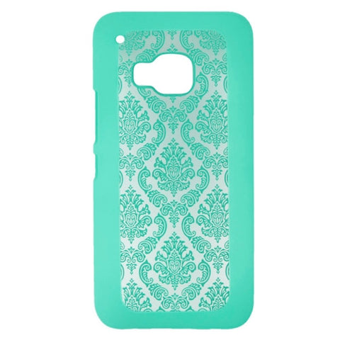 Buy Online  Embossed Flowers Pattern Protective Hard Cover for HTC One M9(Green) HTC Cases - MEGA Discount Online Store Ghana