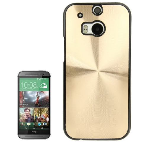 Buy Online  CD Texture Plastic Cover for HTC One M8(Gold) HTC Cases - MEGA Discount Online Store Ghana