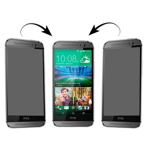 Buy Online  180 Degree Privacy Anti Glare Screen Protector for HTC One M8 Mini(Transparent) Screen Protectors - MEGA Discount Online Store Ghana
