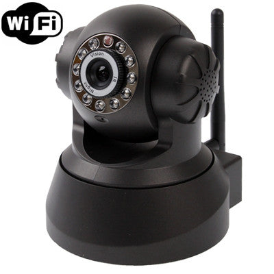 Buy Online  Wireless Infrared IP Camera with WIFI, 0.3 Mega Pixels, Motion Detection and Night Vision / Dimensional Code Function Camera - MEGA Discount Online Store Ghana