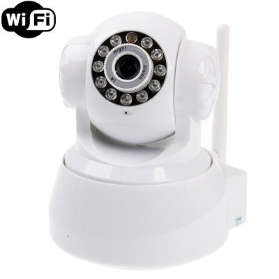 Buy Online  Wireless Infrared IP Camera with WiFi, 0.3 Mega Pixels, Motion Detection and Night Vision / Infrared Alarm Input Function Camera - MEGA Discount Online Store Ghana