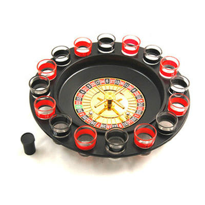 Buy Online  16 Shot Turntable Drinking Roulette Set Smokers Inn - MEGA Discount Online Store Ghana