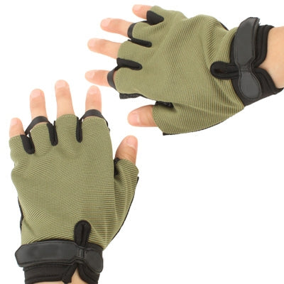 Buy Online  Half-fingered Non-slip Tactical Gloves, Olive Green (Original Version ) Masks & Gloves - MEGA Discount Online Store Ghana