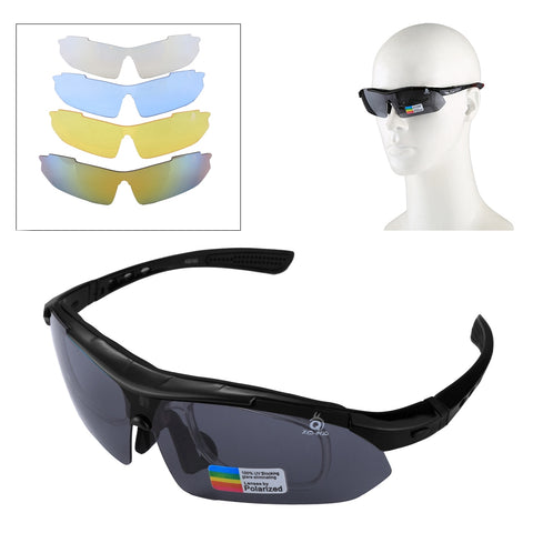 Buy Online  UV400 Protection Sports Sunglasses with 4 x Extra UV400 Protection Lens for Shooting / Cycling / Ski / Golf(Black) Sunglasses - MEGA Discount Online Store Ghana