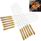 Buy Online  12 PCS Outdoor Camping Barbecue Needles, Length: 30cm Outdoor & Camping - MEGA Discount Online Store Ghana
