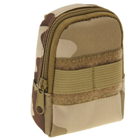 Buy Online  Backpack Style Mini Nylon Accessories Bags Camping Outdoor Sport Casual Waist Pack Zipper Pouch Bag (Three Sand Camouflage) Bags & Backpacks - MEGA Discount Online Store Ghana