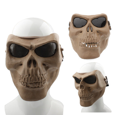 Buy Online  High Intensity Terrifying Evil Facepiece Skeleton Anti BB Bomb Tactical Face Mask with Elastic Bands (Brown) Masks & Gloves - MEGA Discount Online Store Ghana