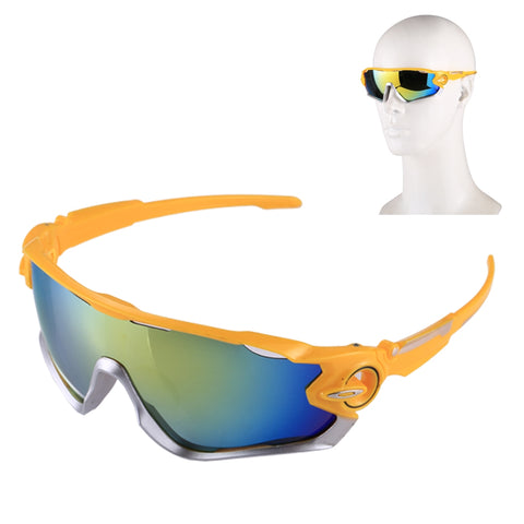 Buy Online  UV400 Outdoor Riding Anti-sand Goggles Sunglasses(Yellow) Sunglasses - MEGA Discount Online Store Ghana