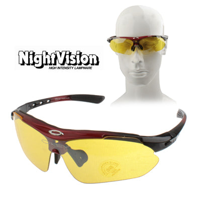 Buy Online  UV 400 Yellow Lens Night Vision Eyeglasses Eyewear (Red) Sunglasses - MEGA Discount Online Store Ghana
