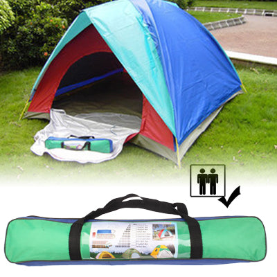 Buy Online  Quick Setting Dome Style 2-Person Camping Tent Pack with Carrying Bag for Outdoor Camping Outdoor & Camping - MEGA Discount Online Store Ghana