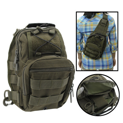 Buy Online  Casual Hard-wearing High Quality Multi-pocket Saddle Bag (Army Green) Bags & Backpacks - MEGA Discount Online Store Ghana